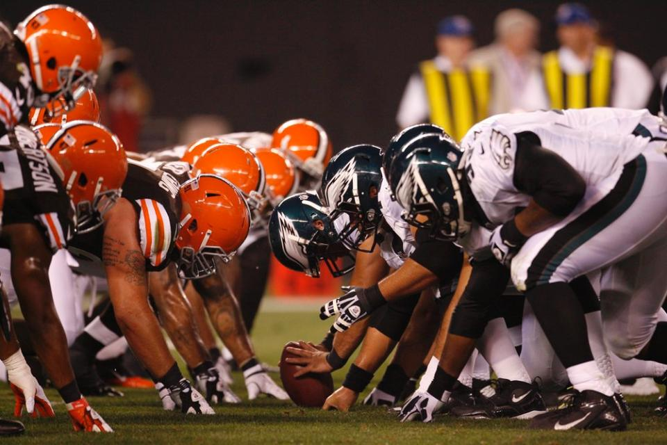 Cleveland Browns vs Philadelphia Eagles