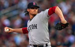 Boston Red Sox Clay Buchholz