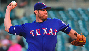 Texas Rangers Colby Lewis