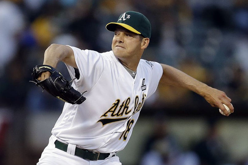 993a354406a Oakland Athletics Rich Hill. Image via sfgate.com. The Los Angeles Dodgers  ...