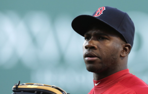 Boston Red Sox Rusney Castillo