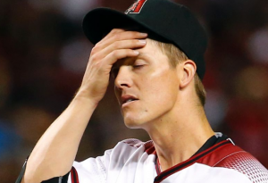 Arizona Diamondbacks Zack Greinke