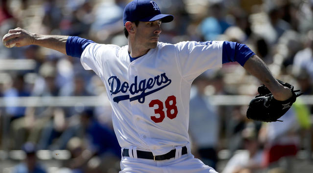 Los Angeles Dodgers Brandon McCarthy