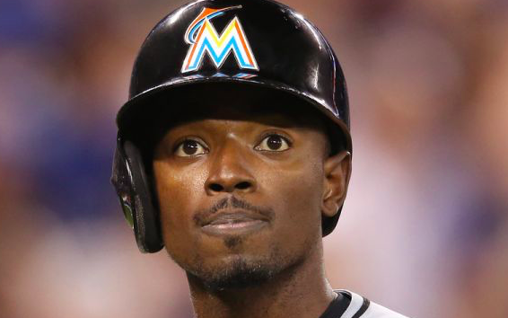 Miami Marlins Dee Gordon