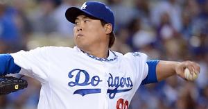 Los Angeles Dodgers Hyun-Jin Ryu
