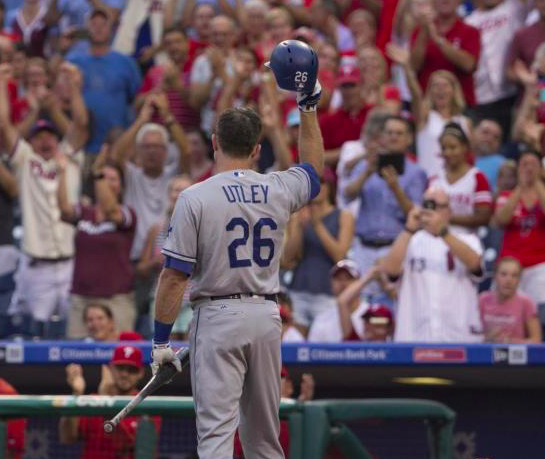Los Angeles Dodgers Chase Utley