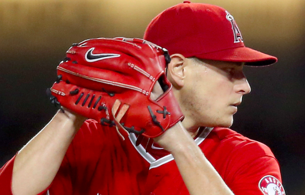 Los Angeles Angels Garrett Richards