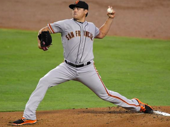 San Francisco Giants Matt Moore