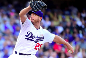 Los Angeles Dodgers Scott Kazmir