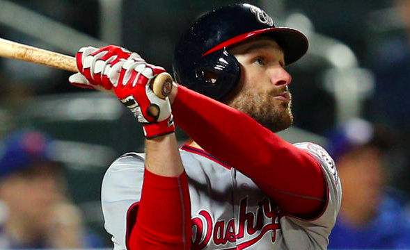 Washington Nationals Daniel Murphy