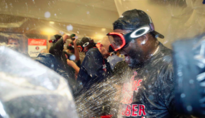 Boston Red Sox win AL East
