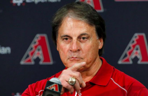 Arizona Diamondbacks Tony La Russa