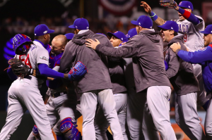 Chicago Cubs win NLDS