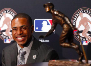Curtis Granderson Roberto Clement Award