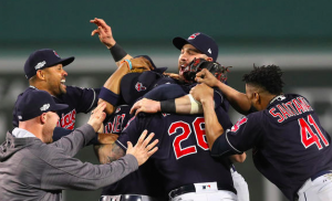 Cleveland Indians win ALDS