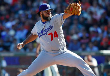 Los Angeles Dodgers Kenley Jansen