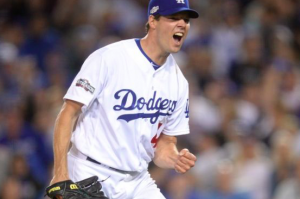 Los Angeles Dodgers Rich Hill NLCS