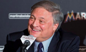 Miami Marlins Jeffrey Loria