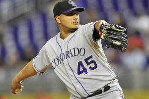 Jhoulys Chacin Padres