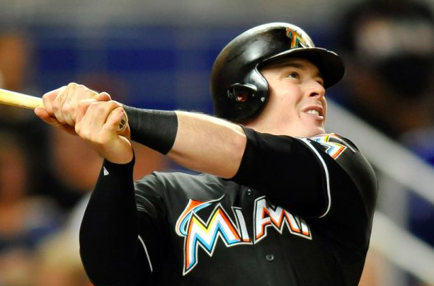 Miami Marlins Justin Bour