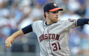 Houston Astros Collin McHugh