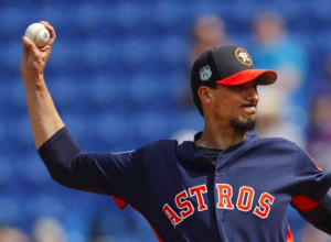 Houston Astros Charlie Morton