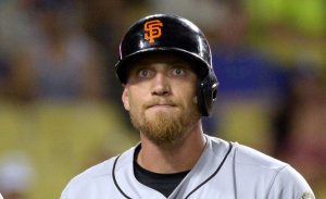San Francisco Giants Hunter Pence