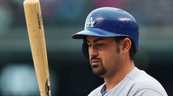 Los Angeles Dodgers Adrian Gonzalez