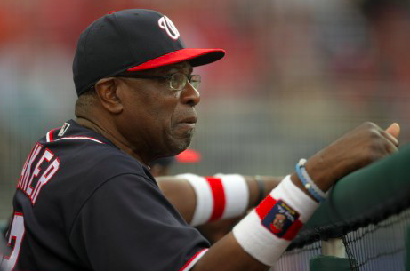 Washington Nationals Dusty Baker