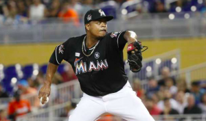 Miami Marlins Edinson Volquez