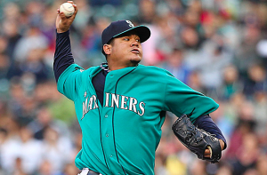 Seattle Mariners Felix Hernandez