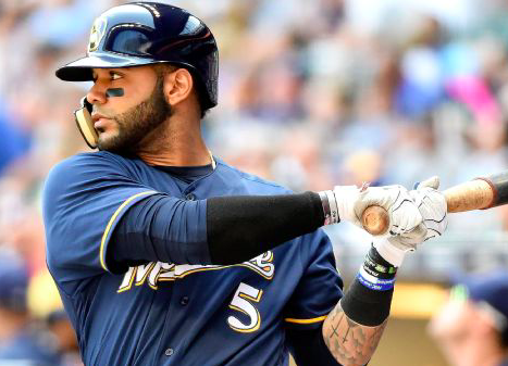 Milwaukee Brewers Jonathan Villar