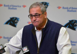 Carolina Panthers Dave Gettleman