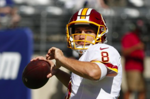 Washington Redskins Kirk Cousins