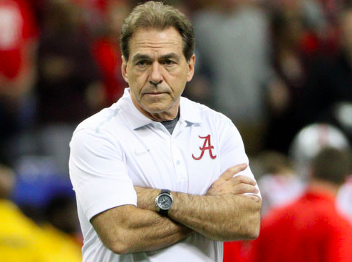 Alabama Football Nick Saban