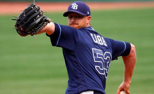 Tampa Bay Rays Alex Cobb