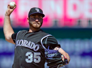 Colorado Rockies Chad Bettis