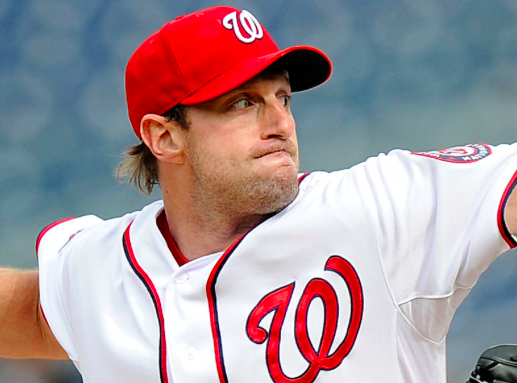 Washington Nationals Max Scherzer
