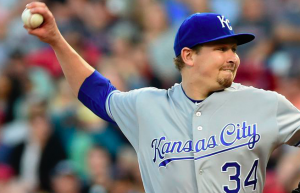Kansas City Royals Trevor Cahill