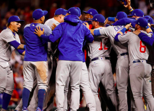 Chicago Cubs win NL Central