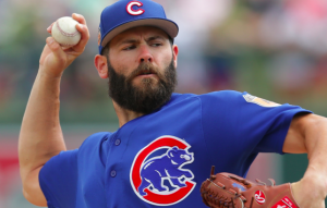 Chicago Cubs Jake Arrieta