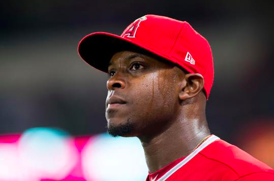 Los Angeles Angels Justin Upton