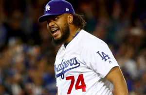 Los Angeles Dodgers World Series Kenley Jansen