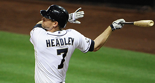San Diego Padres Chase Headley