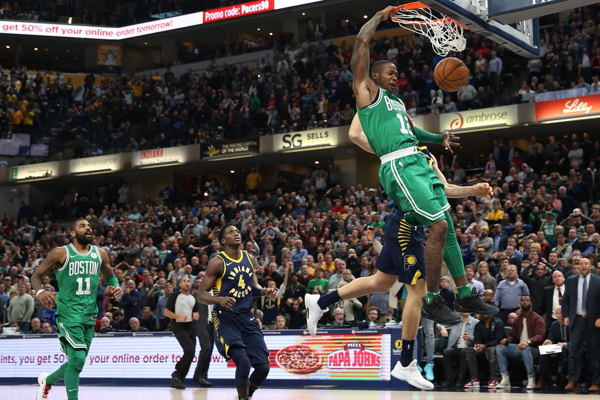 Rozier, Celtics steal win from Pacers