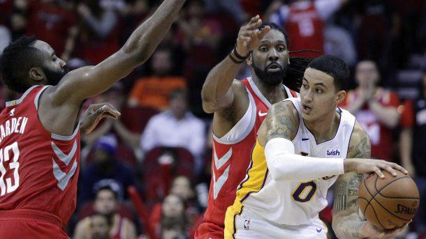 Lakers Down Rockets, Heat Stun Celtics Again