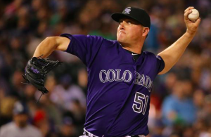 Colorado Rockies Jake McGee