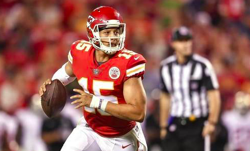 Kansas City Chiefs Pat Mahomes
