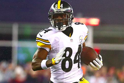 Pittsburgh Steelers Antonio Brown