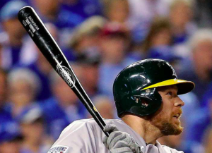 Oakland Athletics Brandon Moss